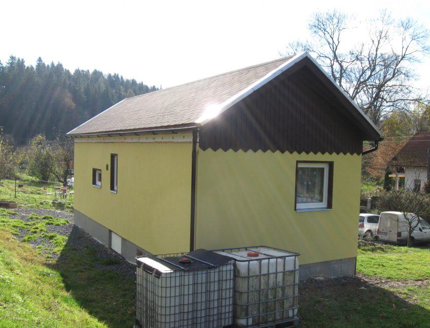 Domek 4×10 2+kk úprava do hor