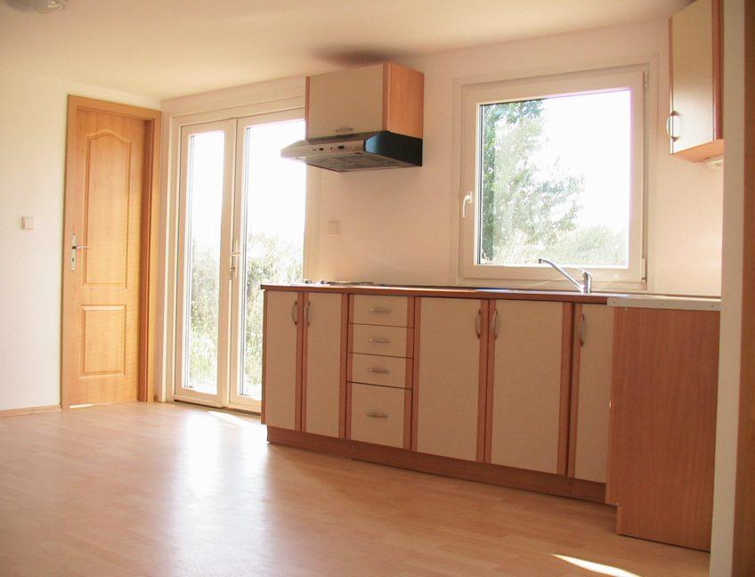 Domek 4×10 kuchyně