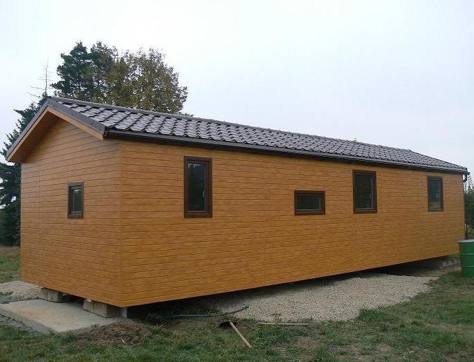Domek 4×12 2+kk zvýšený strop