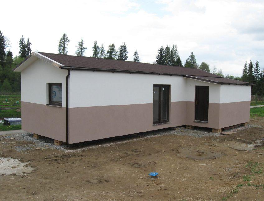 Domek 4×12 s verandou 3+kk