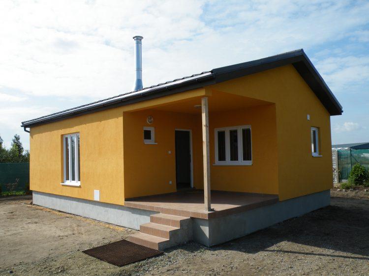 Domek 7×10 3+kk  integrovaná terasa