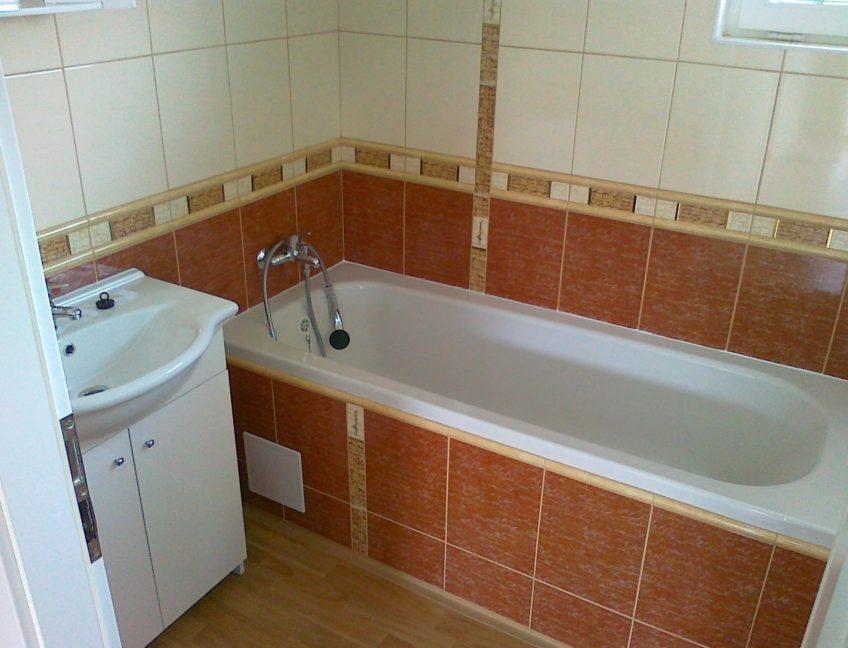 Domek 4×11 koupelna s WC